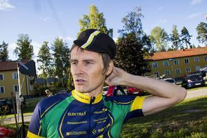 Peter Rosén som tävlade för Alfta var en duktig orienterare, nu är det cykeln som gäller och siktet är inställt på medalj.