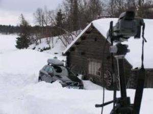 Reklambyrån Stendahls hade tre alternativ för fotouppdraget för Volvo, men det var Funäsdalen som drog längsta strået i konkurrens med Åre och Sälen.  Foto: Natalie Nordby