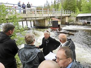 Curt Jonssons minikraftverk i Edet, Strömsund, tas upp av länsstyrelsen i yttrandet med invändningar mot en ny plan för omprövning av vattenkraft.