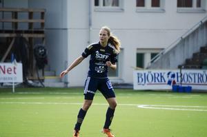 Sophie Brundin gjorde sin andra match för SDFF och med henne på planen har laget inte släppt in något mål.