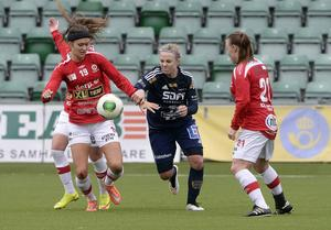 Emma Svärd – dubbel målskytt i SDFF.