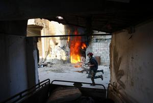 Strider i östra Syrien. Foto: Scanpix