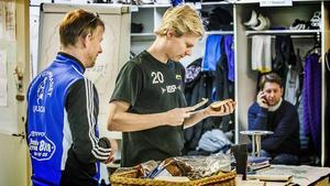 Kalle Mårtensson käkar inte sina mackor i Ljusdals omklädningsrum nästa säsong – det kan han nu bekräfta.