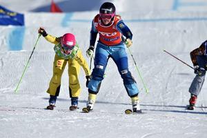 Anna Holmlund vinner B-finalen.