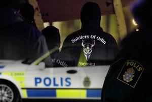 Polisen hade bemannat upp med extra patruller under lördagsnatten.
