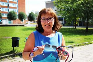 Enligt optiker Marie Norström är det viktigt att använda solglasögon året om, inte bara på sommaren.