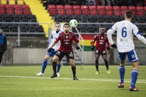Alexis Mendiola var en av de bästa spelarna i ÖFK. Låg bakom mycket med sin fina blick för spelet och precisa passningar.