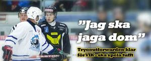 Klar för två säsonger. Viktor Mårtenssons insatser under augusti månad ger honom kontrakt med VIK Hockey.