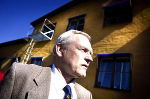 – Vi har burit upp ungefär tolv ton med grejer, säger Bengt Abrahamsson, ordförande i Dalarnes Automobilklubb.