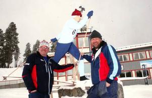 Jöns-Halvar Wikén och Urban Hallqvist förbereder som bäst inför SM som avgörs i Åsarna till helgen. De tror på hyfsat stor publik till stafetterna som inleder SM-helgen på fredag kväll.