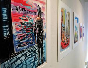 Gigléetryck av Esa Toivonen i Galleri K.