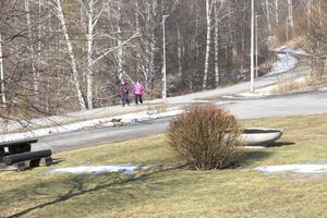 Från Skuthamn och ut till Laggarudden är den vackert belägna gång- och cykelvägen belyst sedan i fjol. I år fortsätter kommunen med en etapp till Burtjärn.