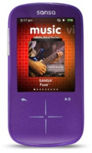 Test mp3-spelare: Sandisk Sansa Fuze Plus