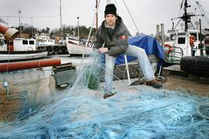 Morgan Andersson är en välkänd fiskare i Grisslehamn. Foto: Arkiv