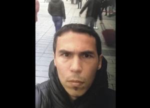 Polisen i Turkiet har släppt bilder på den misstänkte mannen.