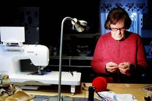 Flitens lampa lyser för det mesta hos Miriam Jönsson.