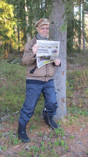 LjP läser jag gärna, framför allt en så´n viktig dag som i dag.Foto: Astrid Gunhamre