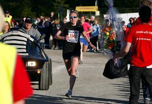 Eva-Britt Karlsson från Sundsvall vinner Vårruset 2008.