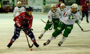 Oscar Wikblad gjorde sina första mål för säsongen i mötet med Hammarby.