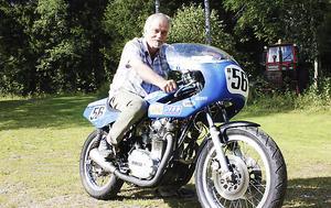Bo-Göran Haals har sitt födelseår som startnummer. Det har han valt själv.
