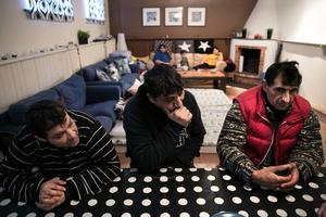 Zlati, Gora och Elia vill helst inte ta emot allmosor, de vill jobba för pengarna.