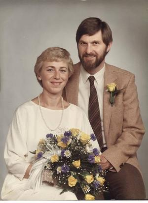 TJUGOFEM ÅR SEDAN. Rosie och Jan Brohagen gifte sig i Högbo kyrka 27 juli 1985.