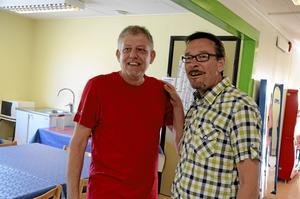 Lasse Lindberg och Lasse Rickardt, två eldsjälar vid Childrens.