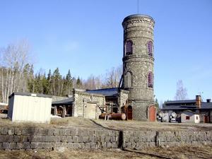Klackbergsområdet i Norberg har två lavar som är ensamma i sitt slag då de är byggda med slaggsten.