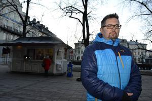 Fredrik Säfström har börjat med