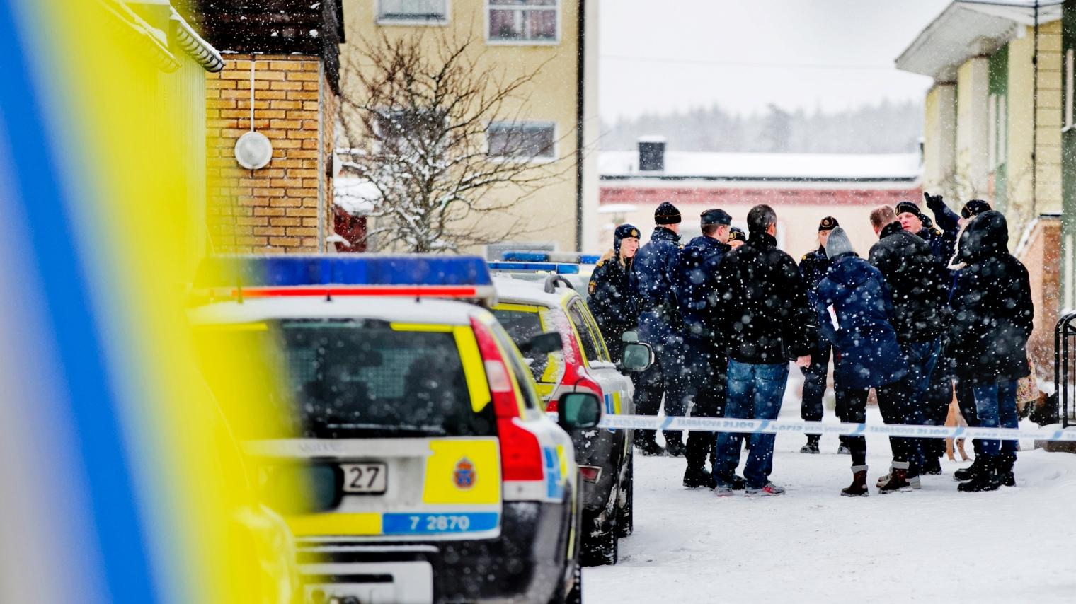 Polisen okar sokandet efter 35 arig kvinna