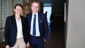 Åsa Romson och Mikael Damberg.