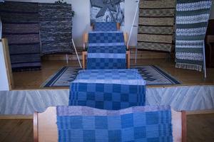 Den längsta mattan på utställningen var 11 meter.
