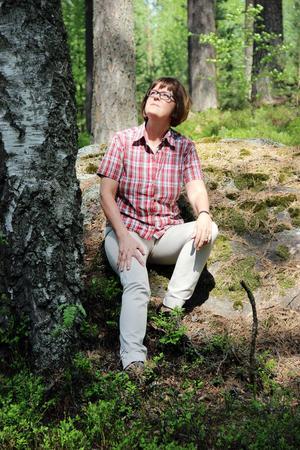 """""""Urbana människors vanligaste perspektiv är att skogen är till för rekreation. Men det är fantastiskt att den samtidigt är en råvaruresurs. Den har spelat och spelar en stor roll för vårt välstånd"""", säger Elisabet Salander Björklund, vd för Bergvik Skog."""