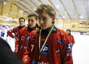 Hannes Kanbjer satte två tunga mål i cupfinalen.