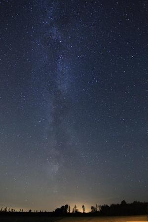 Vintergatan! Ett av de vackraste objekten att beskåda på våran natthimmel.