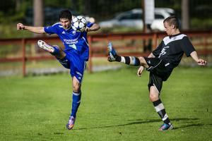 Roni Bermal gjorde en bra match på mittfältet när Rengsjö vann med 2–1 mot IFK Sundsvall.