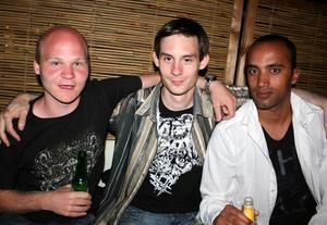 Tabazco. Jesper, Ronnie och Oskar