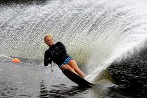 Sandra Gustafsson har hittat rätt teknik och då kommer reultaten.