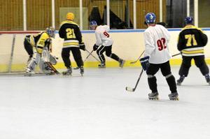 """Tyst och varmt. Mycket är sig likt, både i båset och ute på """"isen"""", men inlinehockey är både tystare och varmare än vintervarianten."""