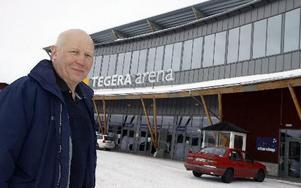 Bertil Daniels, ordförande i Leksands IF, har varit med om hela resan från bildandet av holdingbolaget som blev storägare i arenan och som även köpte Leksand Strand. Han var ordförande i ideella föreningen när LIF-koncernen tog tillbaka arenan och han var med om rekonstruktionen.Foto: Lars Ingvar Eriksson