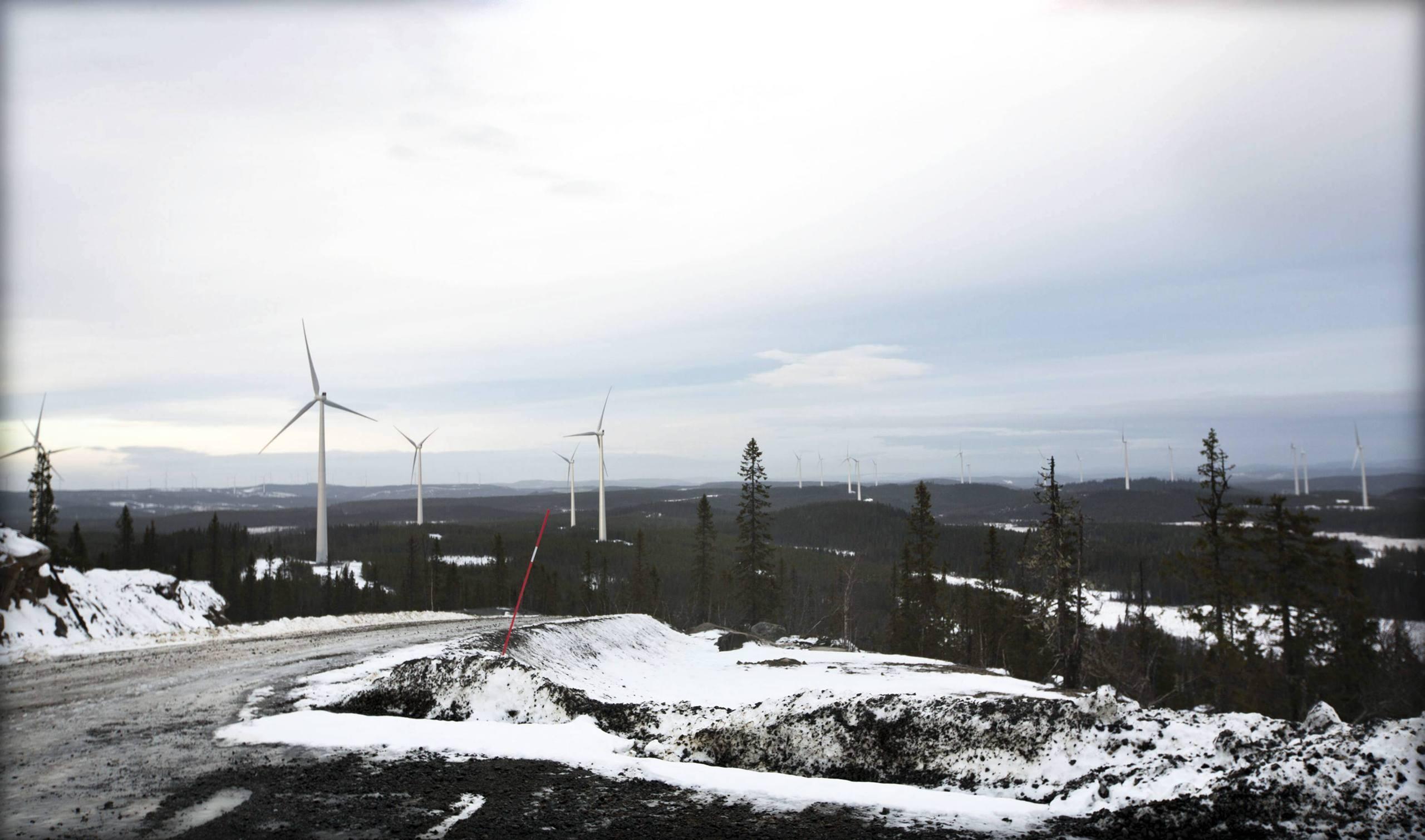 Kraftbolag vill bygga vindkraftverk