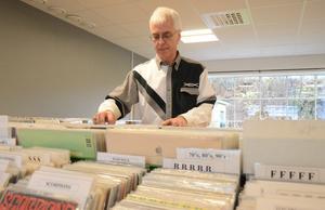 Nostalgi och kvalitet. Två faktorer som tillsammans ger fördel vinyl i musiksammanhang, enligt Göran Forsberg.