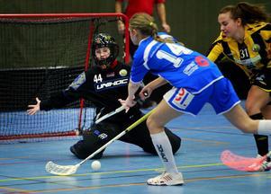 Det tog 48 sekunder innan Alva Olofsson i Hudik/Björkberg gjorde sitt första mål. Innan matchen var slut hade hon stänkt in sju till.