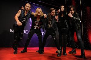 Energirika rockbandet Ammotrack ser fram emot Melodifestivalen i Örnsköldsvik.