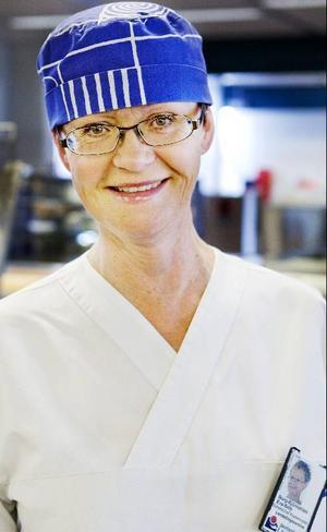 Eva-Britt Borg-Björnström anser att sjukhusköket har ett stort ansvar för att patienterna ska bli friska.