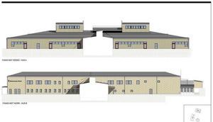 Så här ska Skönsmons nya skola se ut – när den blir färdig.