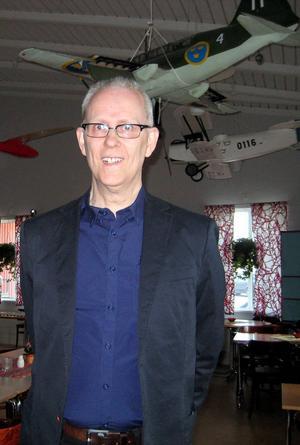 Lennart Andersson höll ett intressant föredrag om spaningsflyget.