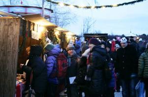 Jamtli genomför sin tre dagar långa julmarknad tillsammans med Hushållningssällskapet i Jämtlands län.