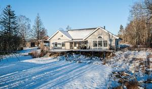 Hetast förra veckan. 7 864 klickade sig fram till den här villan på Storsättravägen i Bondsätter i förra veckan.
