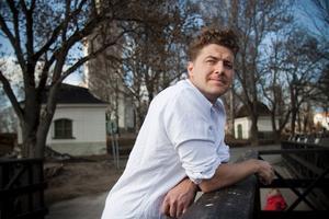 Niklas Almquist, 36 år, gitarrist i The Hives, Fagersta: